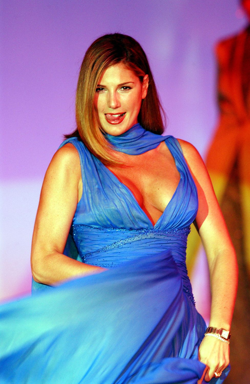 Daisy Fuentes Breasts Only In High Heels