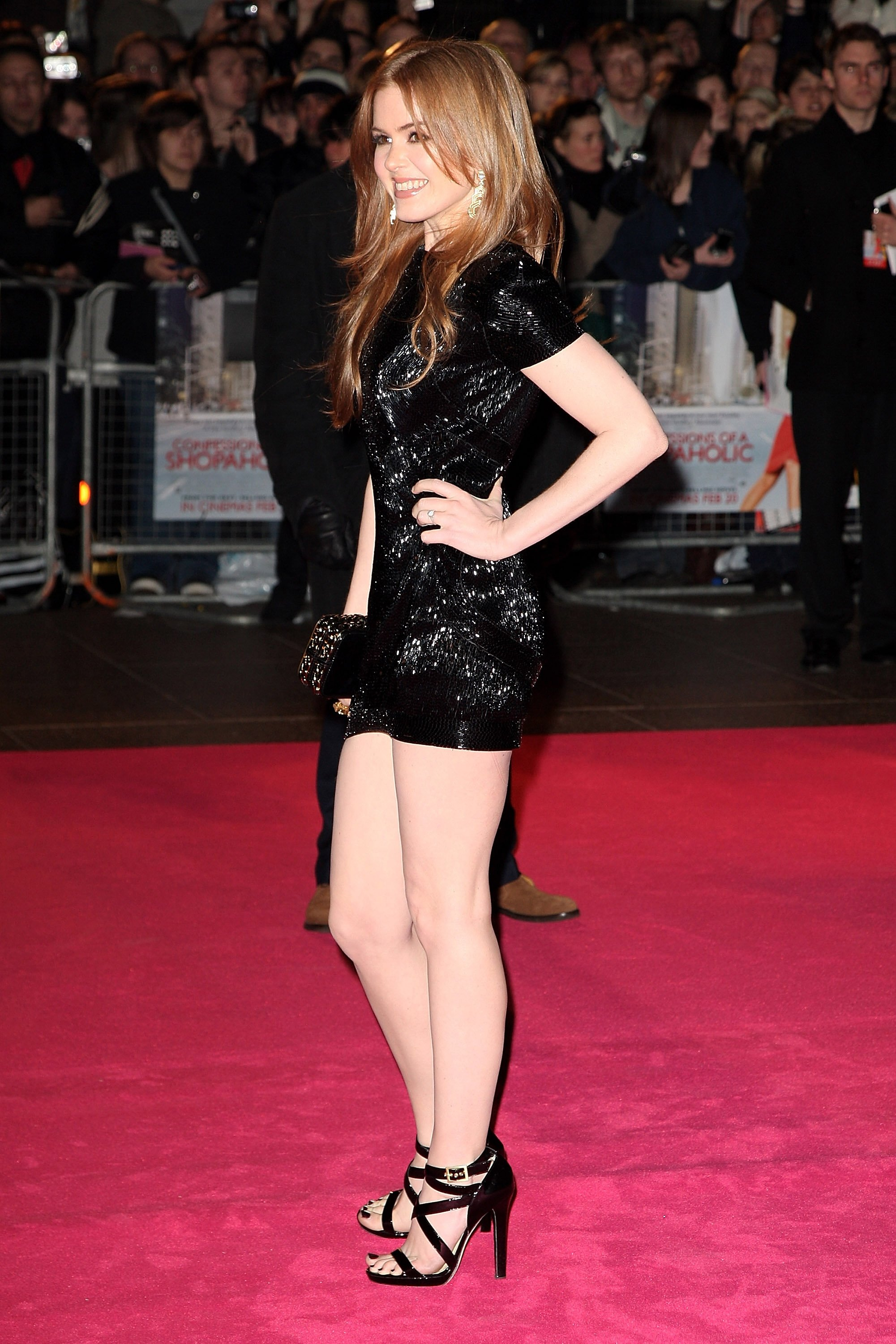 from Sutton isla fisher sexy legs
