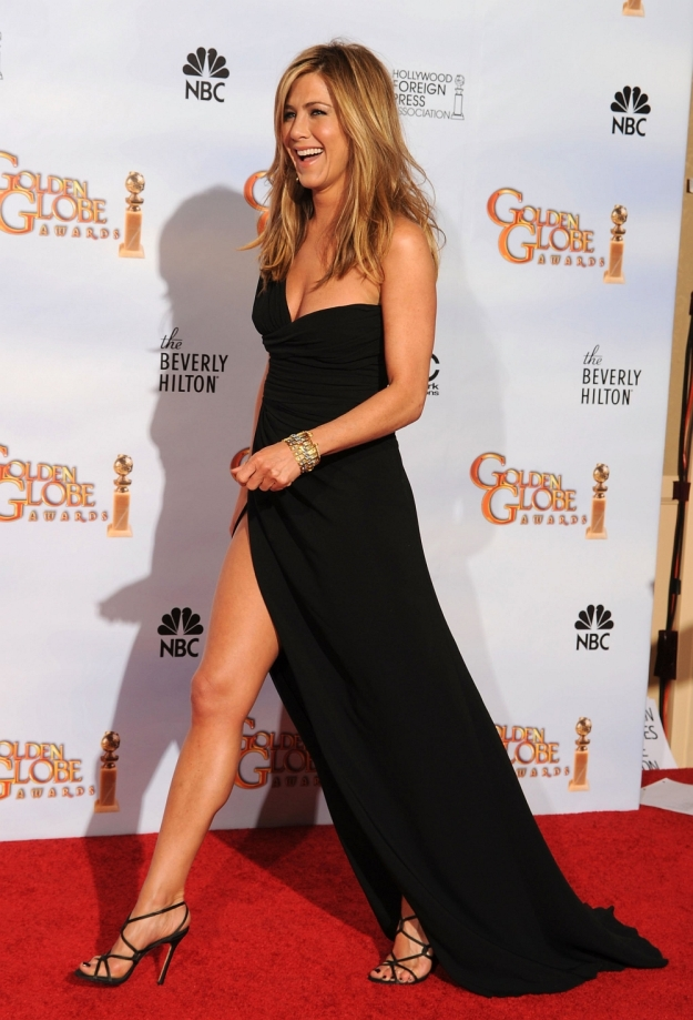 jennifer aniston at golden globes 2010