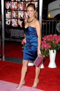 Christine Lakin has sexy legs in high heels