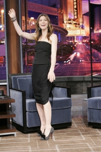 jessica biel jay leno crossed legs in high heels