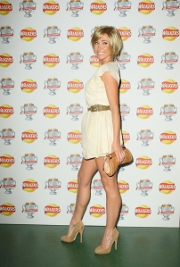 Jenny Frost legs in high heels