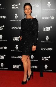 rhona mitra has great legs in high heels