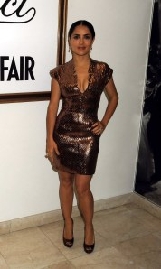 Salma Hayek Gucci Vanity Fair Cannes Party