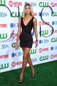 AnnaLynne McCord has sexy legs in high heels