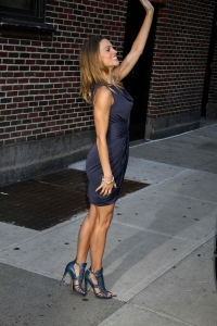 Hilary Swank sexy legs and high heels