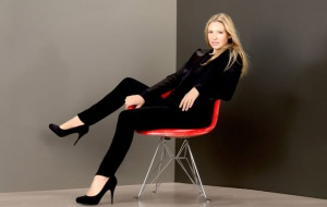 anna torv leggy in high heels