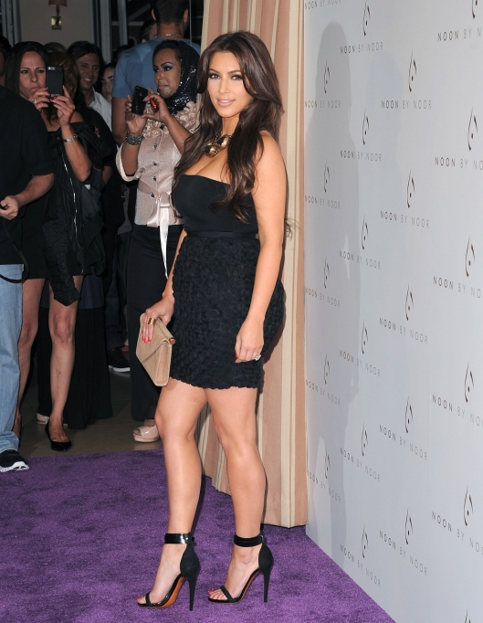 Kim Kardashian attends the Noon by Noor launch party at Sunset Tower