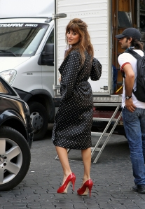 Penelope Cruz Set of Bop Decameron in Rome