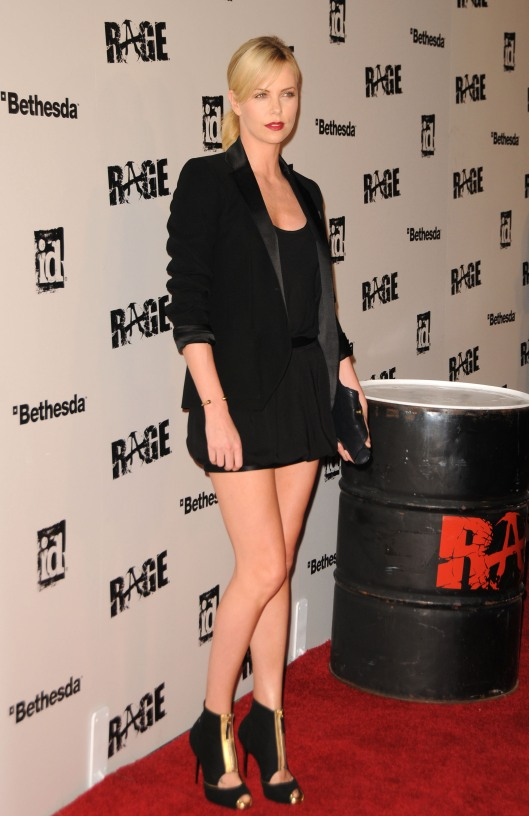 Charlize Theron Launch Party for RAGE in Los Angeles