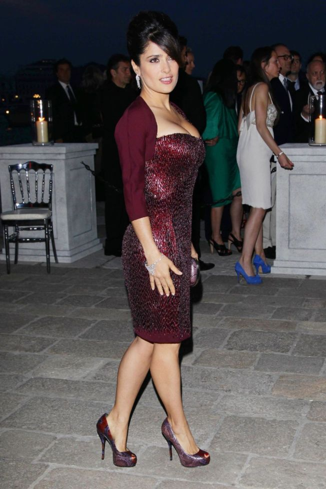 Salma Hayek at Il Mondo Vi Appartiene dinner 54th International Art Biennale