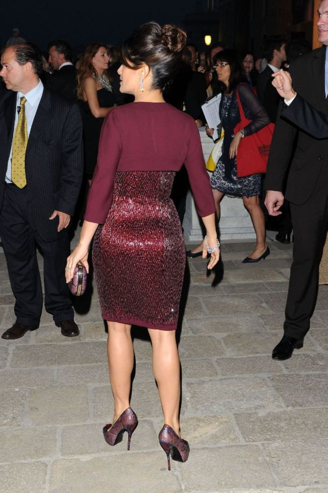 Salma Hayek at Il Mondo Vi Appartiene dinner 54th International Art Biennale1