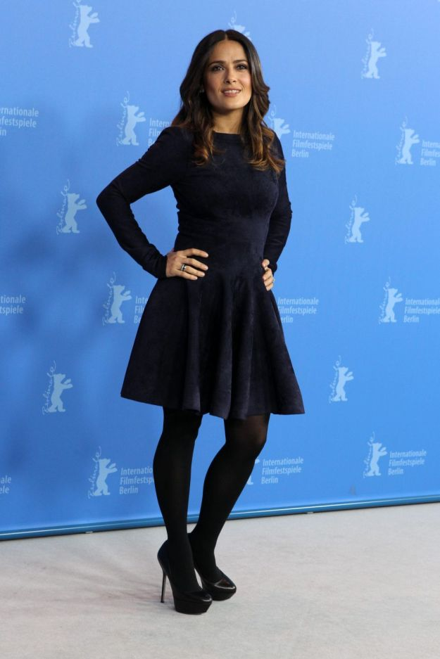 Salma Hayek at the La Chispa De La Vida Photocall in Berlin1