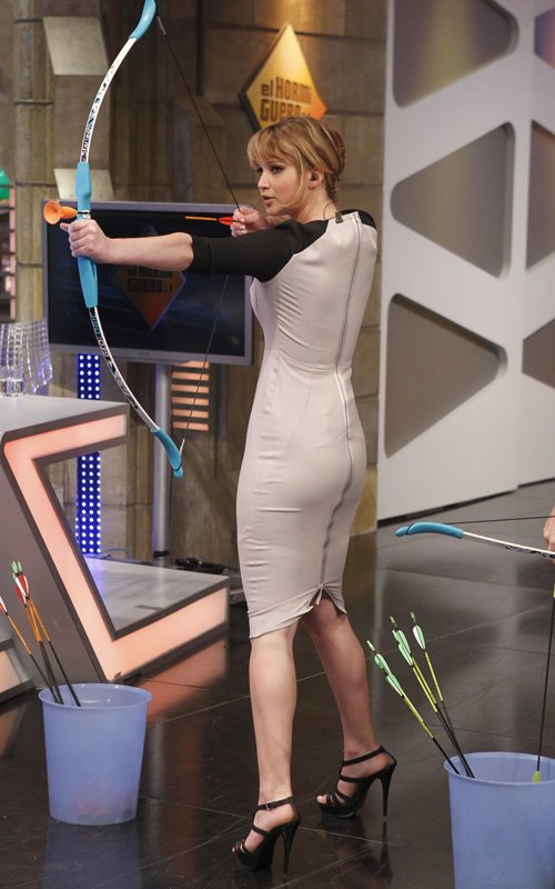 Jennifer Lawrence Sexy Dress And Heels Jennifer Lawrence Sexy Dress And Heels