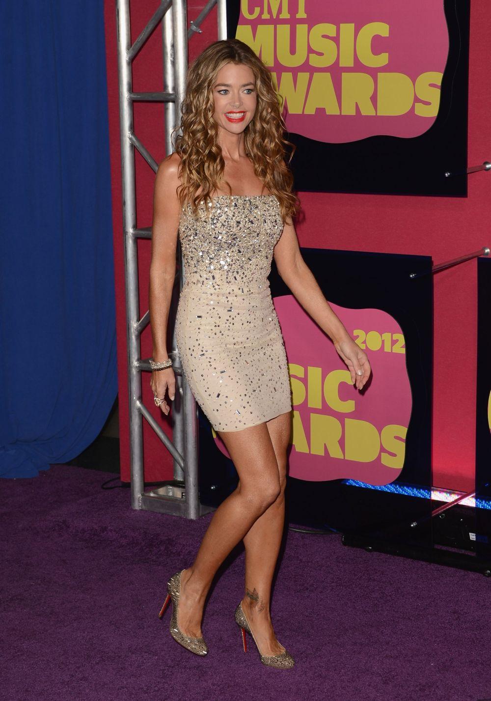 Denise Richards Legs  Only In High Heels