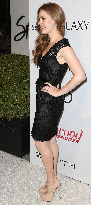 Black dress heels - Amy Adams Amy Adams