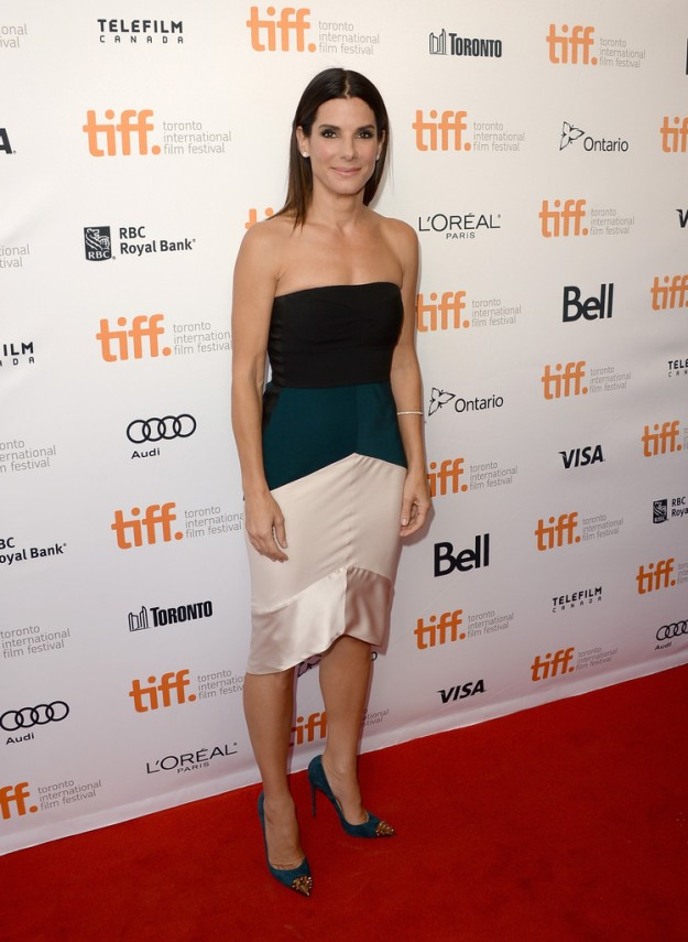 sandra bullock gravity red carpet