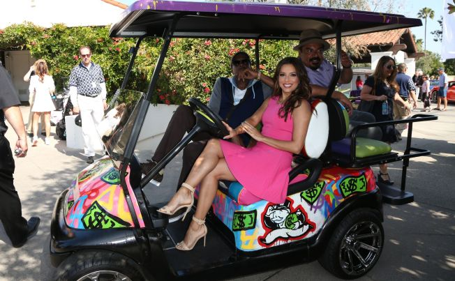 Eva Longoria at George Lopez Celebrity Golf Classic