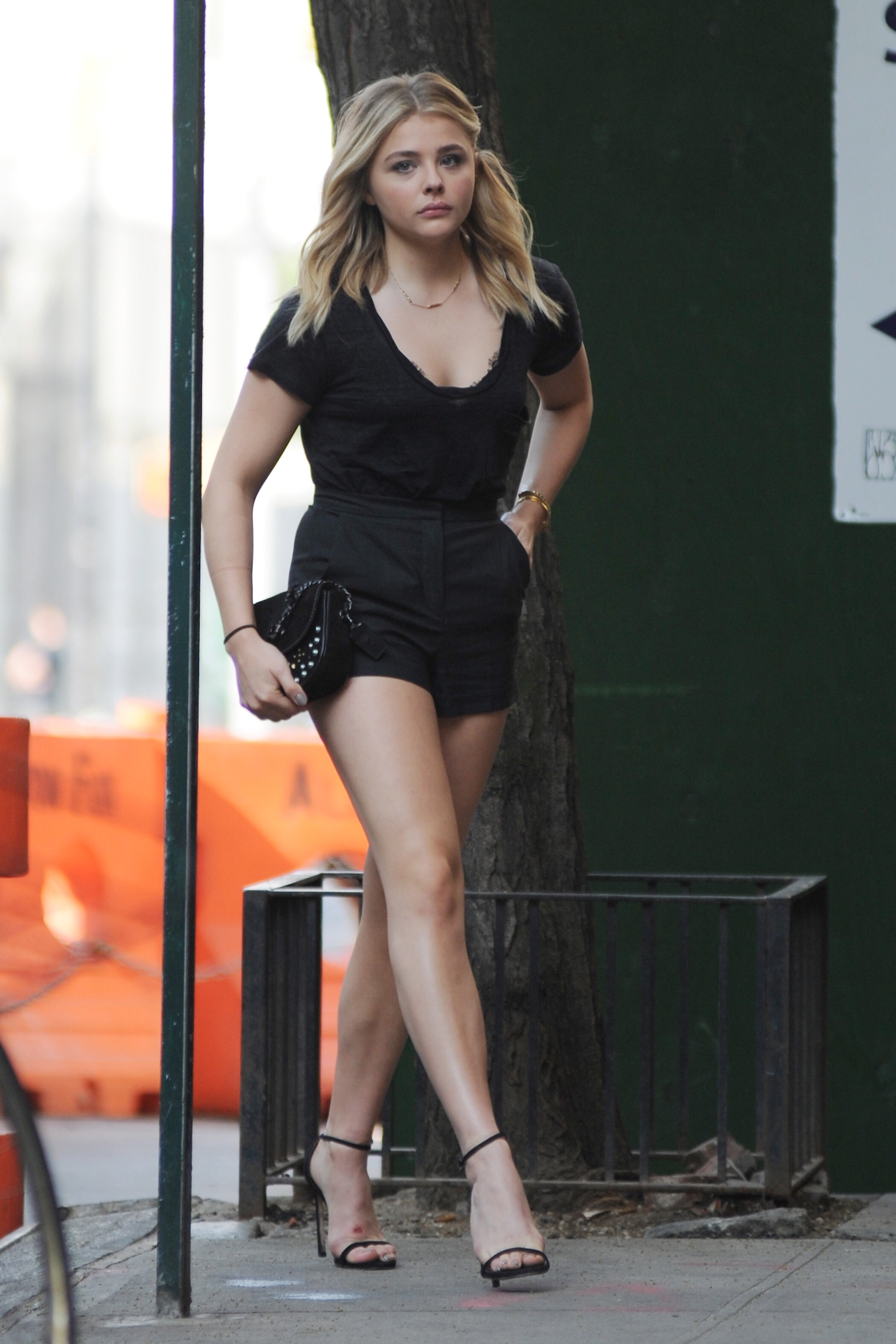 Chlo Grace Moretz  Only In High Heels-4273