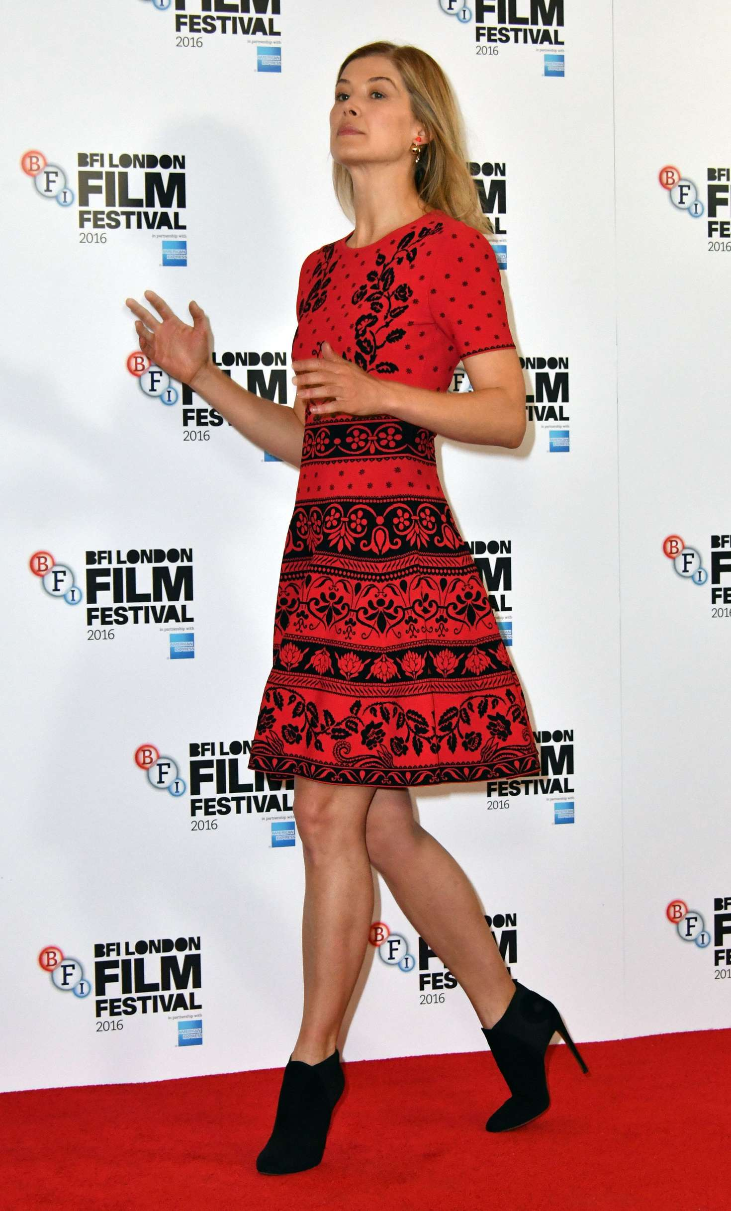 Pike legs rosamund Celebrities With