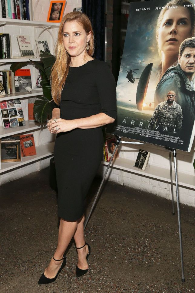 amy adams at arrival