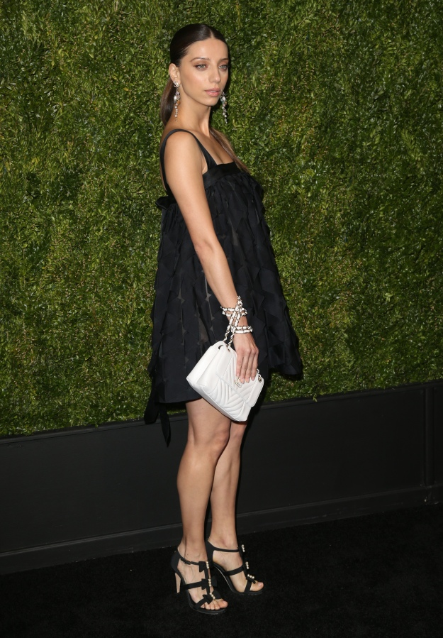 Celebrities at CHANEL's Annual Tribeca Film Festival Artists Dinner in New York.